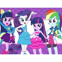 Kit Imprimible Candy Bar My Little Pony Equestria Girls 2x1