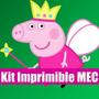 Peppa Pig Kit Imprimible Tarjeta Invitacion 2015 Candy Full