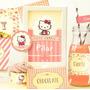 Kit Imprimible Hello Kitty Shabby Rosa Vintage