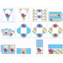 Kit Imprimible Candy Bar Pocoyo - Editable #228