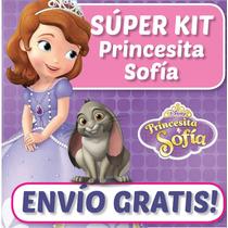 Super Kit Imprimible Princesita Sofia - Cumple, Invitaciones