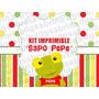 Kit Imprimible Sapo Pepe Candybar Golosina Decoración Fiesta
