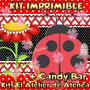 Kit Imprimible Vaquita De San Antonio Candy Bar Y Mas 2x1