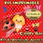 Kit Imprimible Candy Bar Vaquita De San Antonio Golosinas