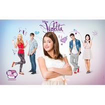 Kit Imprimible Violetta Candy Bar 3x1