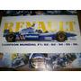 Poster Renault Campeon Mundial Formula 1 1992/1996 (078) Ole
