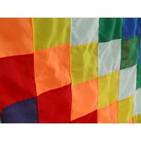 Hermosa Bandera Aborigen Wiphala * Pueblos Originarios 90x90