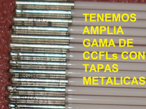 Lamparas Ccfl Tubos Backlight Notebook, Monitores Y Tv Lcd