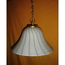Oferta Lampara Colgante Sobria Elegante Campana Murano(0662f
