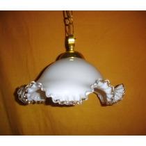 Oferta Elegante Lampara Colgante Murano Impecable (0663)
