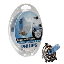 Lámparas Crystal Vision Philips H1 H3 H4 H7 Oferta Especial!