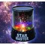 Velador Giratorio Musical Lampara Proyector Estrellas Star