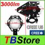Luz Auxiliar Led Moto Bmw Ktm Cree U5 15w 2000lm 6000k