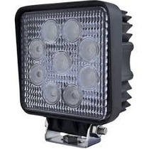 Faro Auxiliar Reflector 4x4 Led Off Road 27w 12a24v Camion +