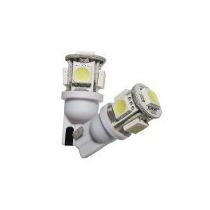 Lampara Posicion T10 5 Smd 5050 Blanco Frio X Unidad