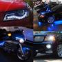 Tira De Led 25 Cm Para Auto / Moto 12 V Exterior Tuning Sili