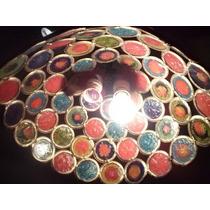 Lamparas Colgantes De Techo Vidrio Colores Antiguas Y Unicas