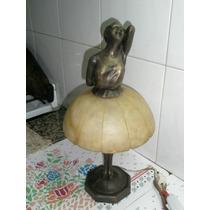 Velador,lampara ,figura Bailarina, Alabastro,firmada