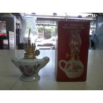 Antigua Lampara De Porcelana De 13 Cm Decada 60
