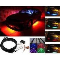 Kit De Luces Led Bajo Piso Ex Interior Tipo Neon Con Control