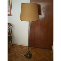 Lámpara De Bronce Antigua - Zona Belgrano