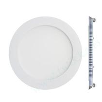 Panel Luz Led 18w Redondo Embutir Blanco Frio Spot Plafon