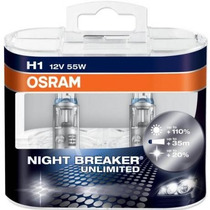 Lampara H1 Osram Night Breaker Unlimited 12v 55w