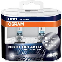 Lampara Hb3 Osram Night Breaker Unlimited 12v 60w