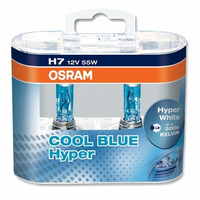 Lampara H7 Cool Blue Hyper 5000k Osram Made In Germany