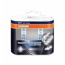 Kit De Lamparas Night Breaker Unlimited H7 Y H1 / Osram