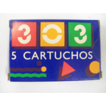 303 Repuesto Cartucho (caja X5 Unidades)