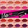 Labial Matte La Girl -flat Finish Pigment Gloss - Zonamakeup