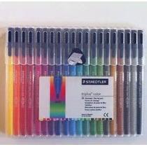 Fibra Staedtler Triplus Color 323 Trazo 1mm Est X 20unidades
