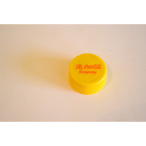 Tapita Chapita Plastica Gaseosa Marca Coca-cola Amarilla