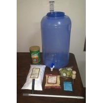 Equipo Basico Cerveza Artesanal Con Kit Insumos Extracto
