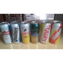 Lote 6 Latas Vacias De Cerveza De Coleccion!!