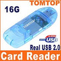 Mini Lector Tarjeta Memoria Micro Sd T-flash Usb 2.0 Mmc Rs