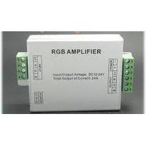 Amplificador Tira De Led Rgb 24 Amperes