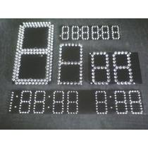 Plaqueta Display Led 7 Segmentos (precio Por Dm Cuadrado)