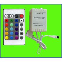 Controladora Rgb + Control Remoto 6 Amp En Microcentro