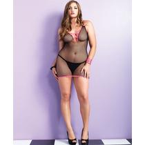 Vestido De Red Xl Importado Usa Lenceria Erotica Femenina