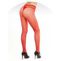Sexshop Kisme Panty De Red 202a Colores Negro Y Rojo