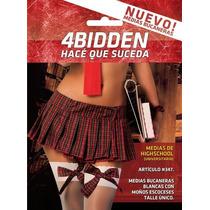 Medias Highschool Universitaria 4bidden Código 347 Sex Shop