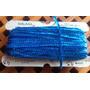 Lentejuelas En Tira Azul Claro Por 10 M