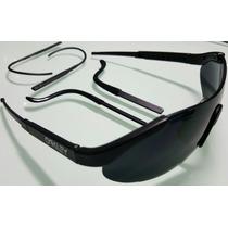 Anteojos Lentes De Sol Oakley Total Black Poralizado Liquido