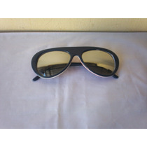 Gafas Vitage Decada Del 80 Marco 3 Colores Cristales Espejad