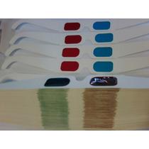 Anteojos 3d Cyan-rojo X 100u. Gafas Para Imprimir Su Marca