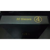 Pack De 4 Anteojos 3d Originales Samsung Ssg-4100gb