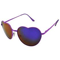 Anteojos De Sol Corazón Lolita Varios Colores Exclusivos Uv
