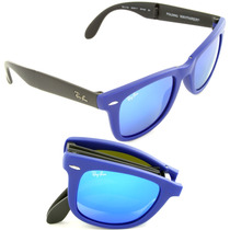 Anteojos Ray Ban Rb4105 Wayfarer Folding Plegables Original